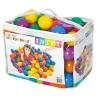 Набор шариков-мячиков для игровых центров 100шт (диаметр 8см) 49600