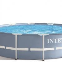 Бассейн каркасный (366х99см)+насос-фильтр,лестница INTEX арт.28718
