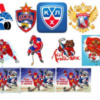"""Водорастворимые картинки """"хоккей2"""""""