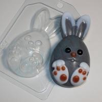 """пластиковая форма """"кролик мультяшный"""""""