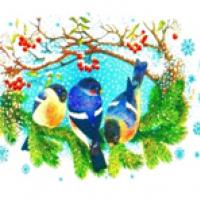 """Водорастворимые картинки """"новогодние 3"""""""