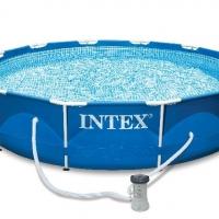 Бассейн каркасный (366х76см)+насос-фильтр INTEX арт.28212