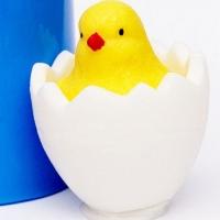 """Силиконовая форма """"Цыпленок в яйце"""""""