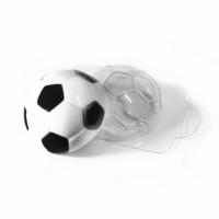"""пластиковая форма """"футбольный мяч"""""""