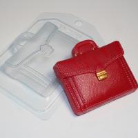 """Пластиковая форма """"портфель кожаный"""""""