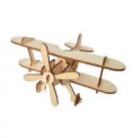 Самолёт конструктор деревянный (игрушка)
