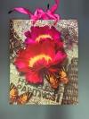 Пакет подарочный  Цветок