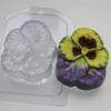 Пластиковая форма Анютины глазки