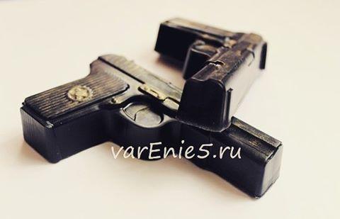 Готовое мыло пистолет