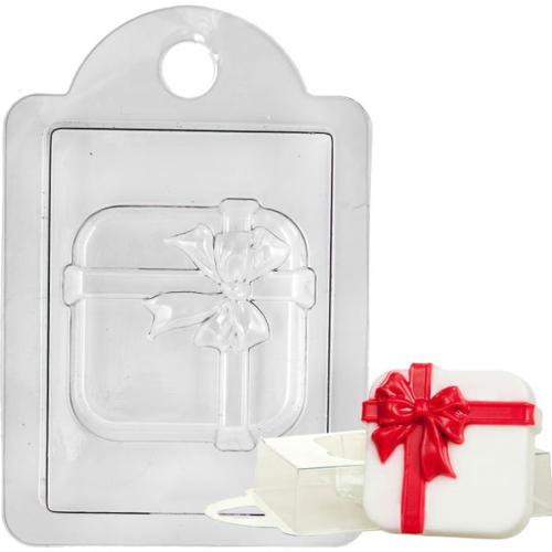 Пластиковая форма Коробка с подарками