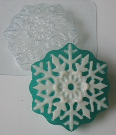 Пластиковая форма Снежинка