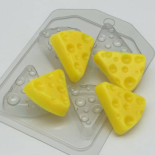 Пластиковая форма Сыр треугольный (4 МИНИ)