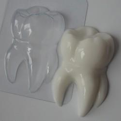 Пластиковая форма Зубик