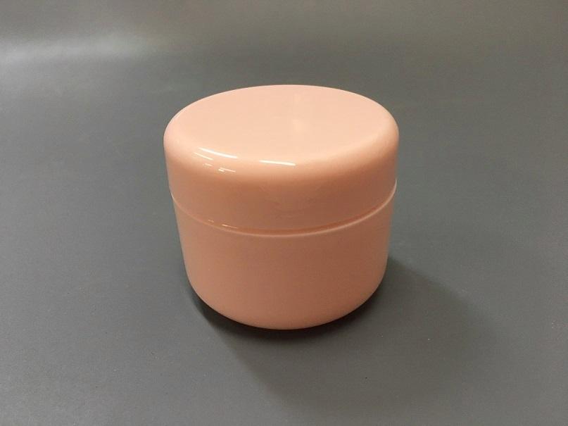 Баночка для косметики с вкладышем 50 мл (розовая)