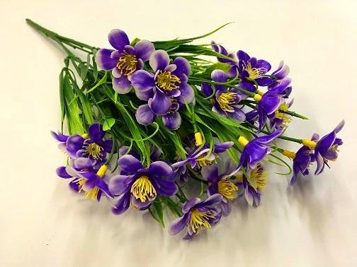 Букет лютиков цвет фиолетовый