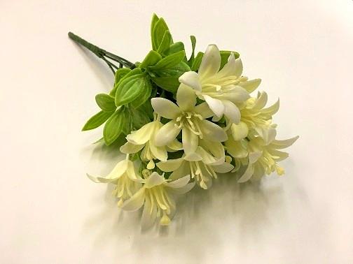 Ветка лилии белая
