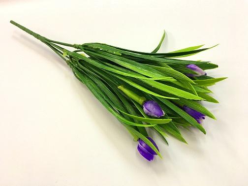 Букет тюльпанов, цвет фиолетовый