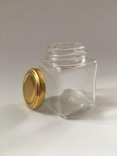 Баночка стекло куб 0,120 мл