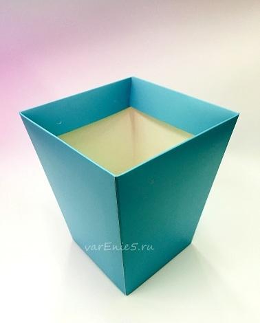 КАШПО картон (цвет небеса)