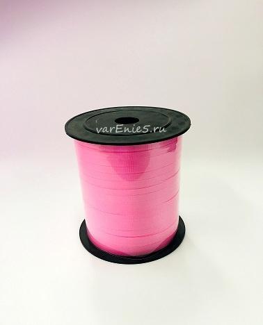 Лента упаковочная 0,5 см , 250у (розовая)