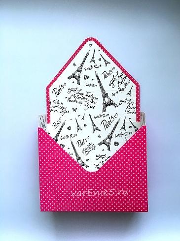 КАШПО_конверт картон №3 (роз. париж)