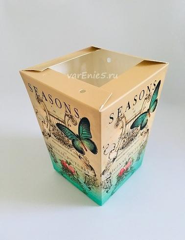 КАШПО_трапеция картон бабочки №5
