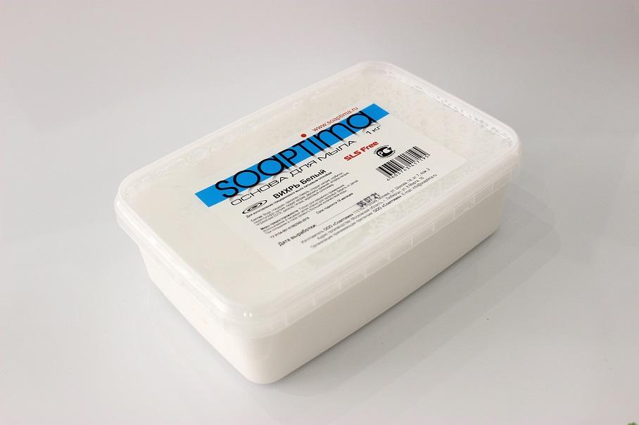 ОСНОВА ДЛЯ СВИРЛОВ SOAPTIMA ВИХРЬ белая , 1 кг
