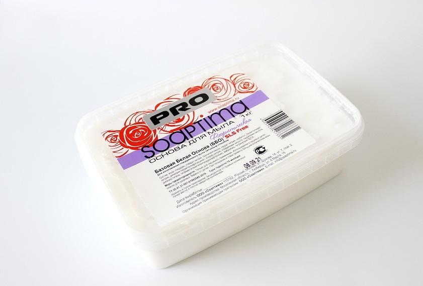 Основа для мыла  Soaptima флористическая (белая), 1 кг