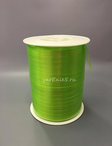 Лента упаковочная 0,5 см , 500м (салатовая)