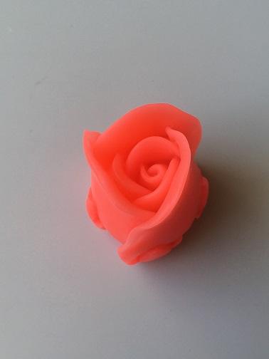 Силиконовая форма Большой бутон розы