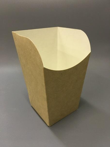 Прямоугольный стаканчкик крафт