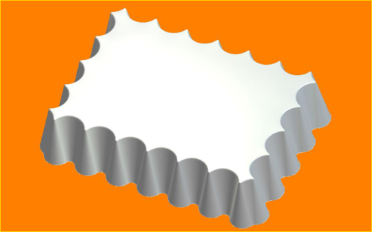 Пластиковая форма Штиль (БП)