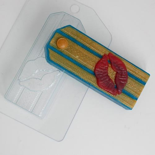 Пластиковая форма Погон с поцелуем