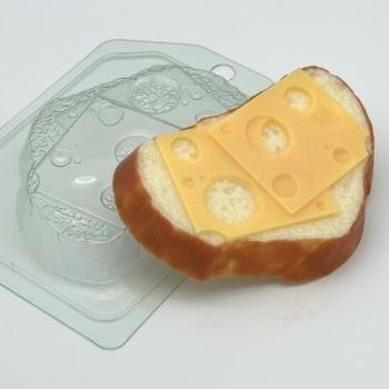 Пластиковая форма Хлеб белый с сыром