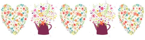 Водорастворимые картинки Нежные цветы