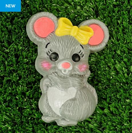 Пластиковая форма Мышка с бантиком