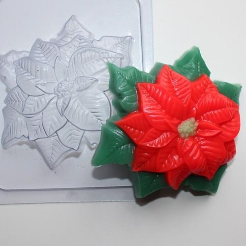 Пластиковая форма Пуансетия