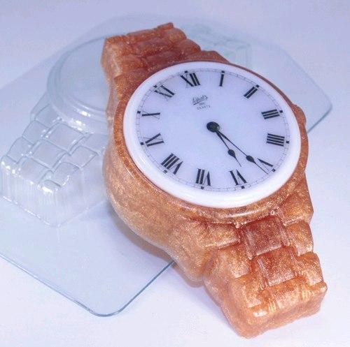 Пластиковая форма Часы наручные /металлический браслет
