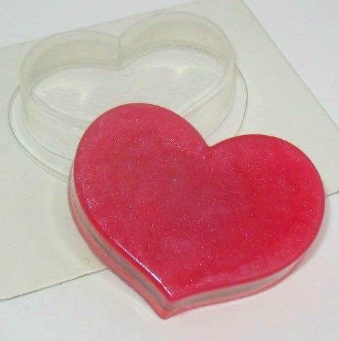 Пластиковая форма мини/сердце