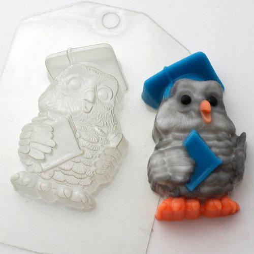 Пластиковая форма Сова мудрая