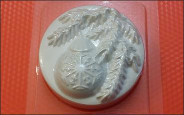 Пластиковая форма Шар на ветке БП