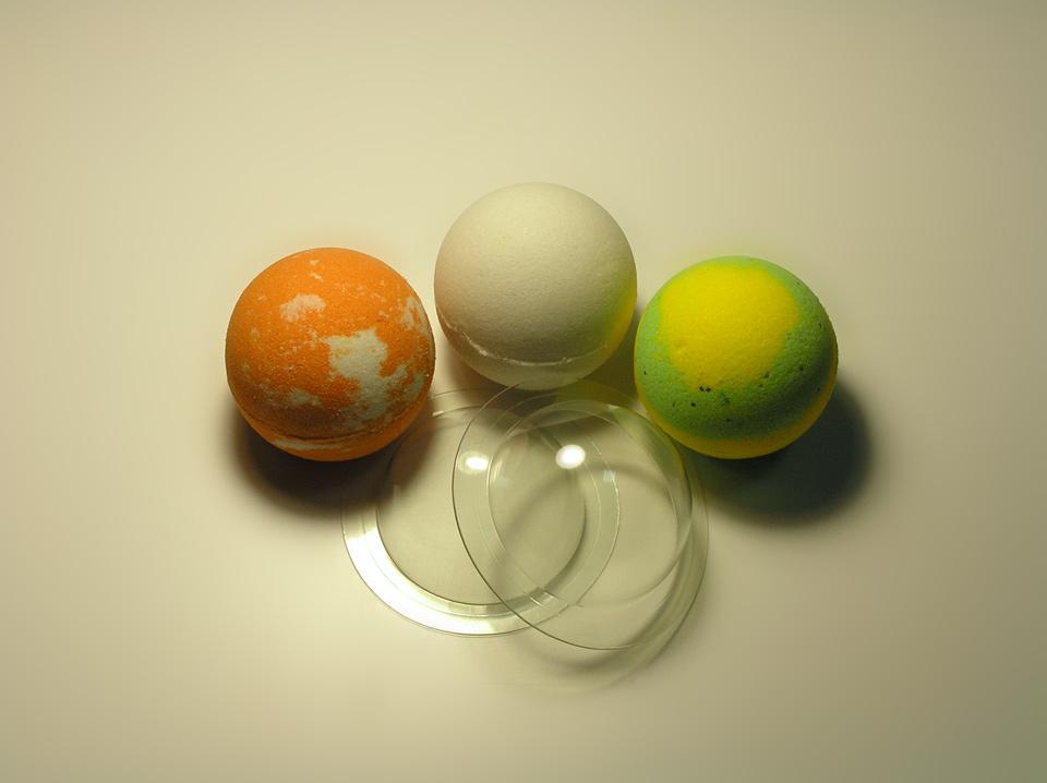 Форма для бомбочек Сфера средняя