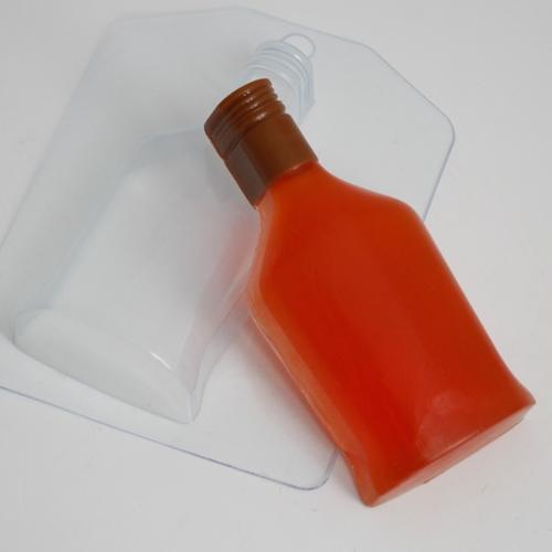 Пластиковая форма Бутылка коньяка
