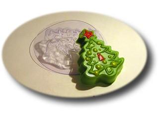 Пластиковая форма новогодняя елочка