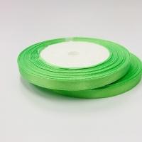 Лента атласная, салатовый , 12 мм (20м)