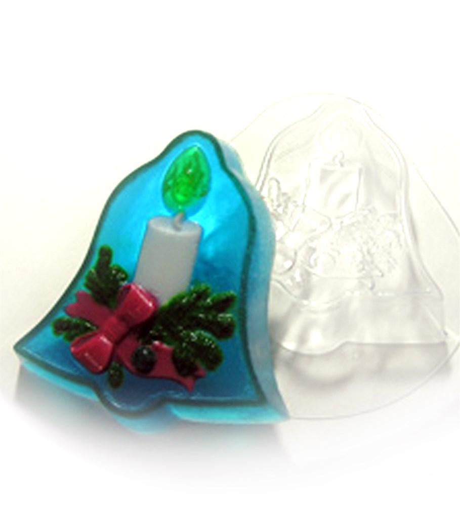Пластиковая форма Рождественский колокольчик