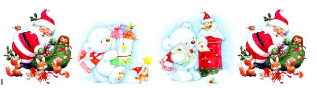 Водорастворимые картинки новогодние 1