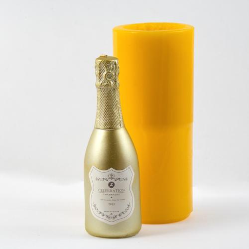Силиконовая форма Бутылка шампанского