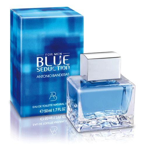 Парфюм. отдушка  ANTONIO BANDERAS Blue Seduction for Men (man)10 г