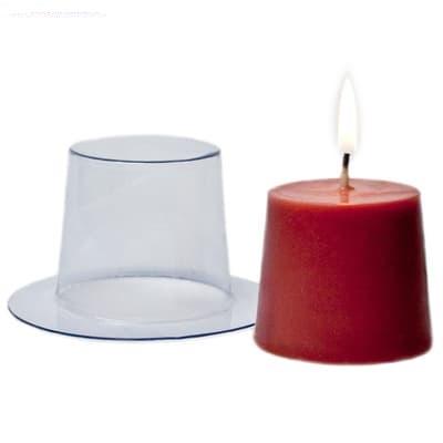 Пластиковая форма для свечей Бочонок